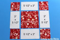 I love combining quilt blocks for quilts and  blocks 20 and 21  are great blocks to merge for a classic look. Block #20 ...