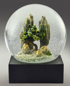 Amazon.com - Rock Garden Snow Globe by CoolSnowGlobes