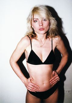 regret everything — Debbie Harry photographed by Chris Stein.