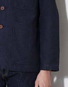 Universal Works Bakers Locco Jacket Indigo - Nitty Gritty Store