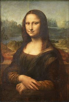 Mona Lisa. I was surprised at the size of the painting.  I was expecting something much larger