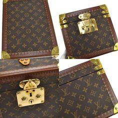 Louis Vuitton Louis Vuitton Boite Flacons Beauty Trunk Train Case