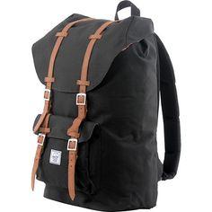 Herschel Supply Little America Black Backpack