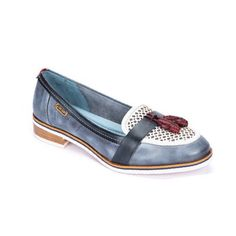 Pikolinos 3569 Royal Denim/White from ELLA Shoes Vancouver | Womens Leather…
