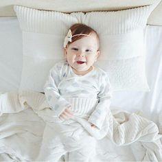We think she's the cutest thing alive ❤ #nikitonybaby #nikitony #babiesofinsta #instababies #bandanabib #bibdana