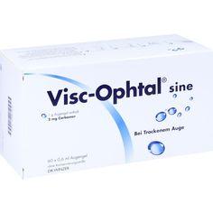 VISC OPHTAL sine Augengel:   Packungsinhalt: 60X0.6 ml Augengel PZN: 00646400 Hersteller: Dr. Winzer Pharma GmbH Preis: 12,68 EUR inkl.…