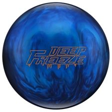 Columbia Deep Freeze Bowling Ball. The densities of the Modified Messenger core have been changed in order to create an enhanced look on dry conditions. The Deep Freeze features the same great New Era cover that has helped make many of Columbia 300's performance balls successful, especially the Freeze line.