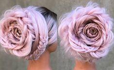 Hair Styles – Hair Care Tips and Tricks Hair Dye Colors, Cool Hair Color, Rose Hair, Pink Hair, Designs Undercut, Pretty Hairstyles, Braided Hairstyles, Medium Hair Styles, Curly Hair Styles