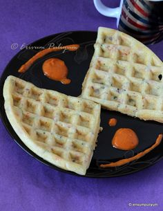 Erivum Puliyum: Dosa Waffles   Quick Breakfast   Kids Friendly
