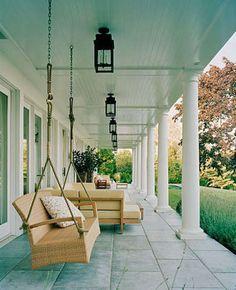 Keep Birds Away Blue Ceilings The Colonial Porch Bob Vila Patios Haint Ceiling