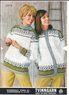 Norderhov 619 S Vintage Knitting, Lace Knitting, Knit Crochet, Fair Isle Chart, Norwegian Knitting, Sweater Weather, Jumpers, Sweaters, Crafts