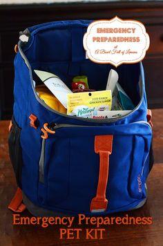 Emergency Preparedness Pet Kit