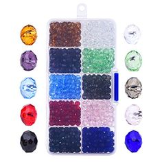 Outus 800 Pieces 6mm Briolette Faceted Glass Beads Crysta... https://www.amazon.com/dp/B01JOFGOZG/ref=cm_sw_r_pi_dp_x_whwozb5KC8KA6
