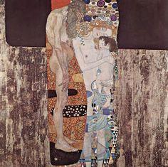 Las tres edades de la mujer  Gustave Klimt