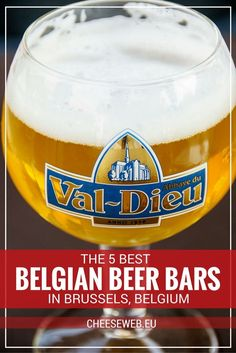Most bars in Brussels serve beer, but few offer an extraordinary selection. So today, we share our top five Brussels bars and cafés for tasting Belgian beer in the capital of Belgium.
