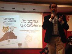 """Presentación """"De Tigres y Corderos""""  El acto fue organizado por la Editorial Rasche y se celebró en el Fórum de la Fnac de Callao, en Madrid. Allí nos dimos cita, a partir de las 19 horas gran parte de los autores que participamos en esta publicación y compartimos con el público asistente las reflexiones y los mensajes de nuestros capítulos."""