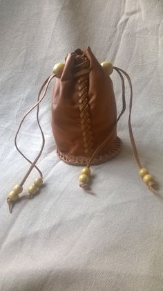Drawstring Backpack, Leather Backpack, Leather Working, Backpacks, Bags, Fashion, Handbags, Moda, Leather Backpacks