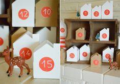 swoon studio: Handmade Christmas: Little Village Advent Calendar