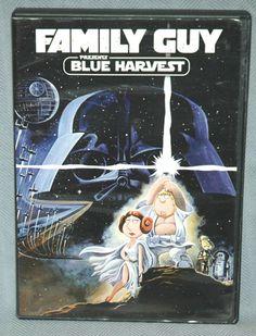 Family Guy Blue Harvest DVD (Star Wars Episode IV Spoof The Force Awakens) #RivalMadness