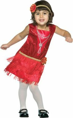 Child's Toddler Flapper Dress Costume (Size:3-4T) . $38.74