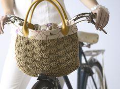 on-the-go bike basket purse pattern by Kim Hamlin