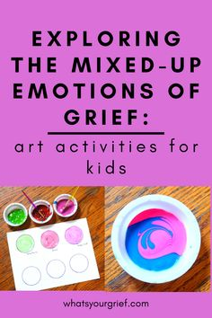 Grief Activities, Group Therapy Activities, Emotions Activities, Counseling Activities, Creative Activities For Kids, Art Activities For Kids, Understanding Emotions, Child Life Specialist, Grief Counseling