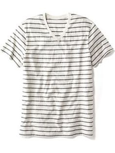 Striped V-Neck Tee for Men | Old Navy
