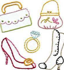 Dress Up Embroidery Pattern (Sublime Stitching)