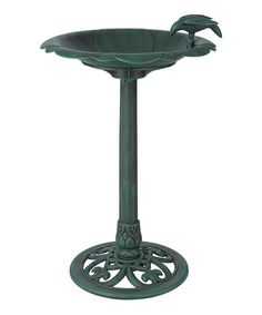 Arcadia Garden Products Bird Bath Verdigris, x Lightweight for easy transportation. Breaks down into four pieces for easy storage. Can be filled with sand for more stability. Hanging Bird Bath, Arcadia Garden, Whitehall Products, Blue Lotus, Wall Mount Bracket, Glass Birds, Contemporary Landscape, Outdoor Settings, Home Art