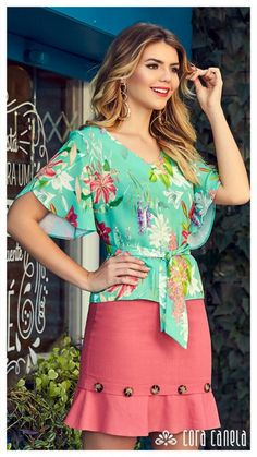 LOOKBOOK 7 – Cora Canela Creation Couture, Long Blouse, Fashion Sewing, Pajamas Women, Fashion Outfits, Womens Fashion, Blouse Designs, Beautiful Outfits, Clothing Patterns