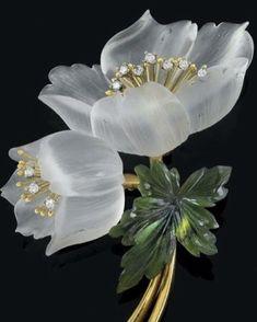 Art nouveau flores flower brooch 33 ideas for 2019 Bijoux Art Nouveau, Art Nouveau Jewelry, Jewelry Art, Unique Jewelry, Vintage Jewelry, Jewelry Design, Schmuck Design, Flower Brooch, Box Art