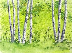 Four Seasons Watercolor Landscapes Watercolor Landscape, Watercolor Art, Magazine Titles, Where To Sell, Call For Entry, Four Seasons, Online Art Gallery, Fine Art America, Graphic Design