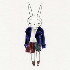Fifi Lapin dresses by Mary Katrantzou