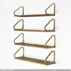 Alvar Aalto wall shelves