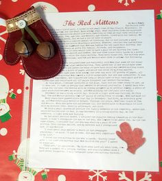 amazing printable story and awesome gift idea