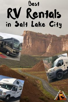 Are you looking for an rv rental for your utah road trip? here are the best rv rentals in salt lake city. they range from luxury class as to campervans. Usa Travel Guide, Travel Usa, Travel Guides, Travel Tips, Travel Hacks, Travel Advice, Us Road Trip, Road Trip Hacks, Utah Camping