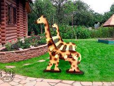 "Скамейка ""Жираф"""