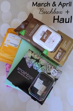 March and April Birchbox with Haul