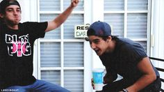 The Janoskians Jai and Beau Brooks