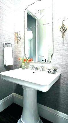 202 best pedestal sink storage images bathroom home decor houses rh pinterest com