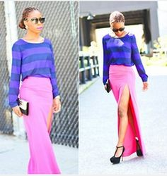 Maxi Skirt - with Slit