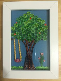 My try at quilled tree