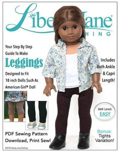 Free Doll Clothes Pattern Friday (January 6th, 2017) | Pixie Faire