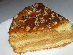 Торт «Банановое чудо» со сгущенкой
