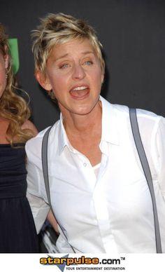 Ellen Degeneres tiene ojos de l cielo!!!!! es un ANGEL!!!!
