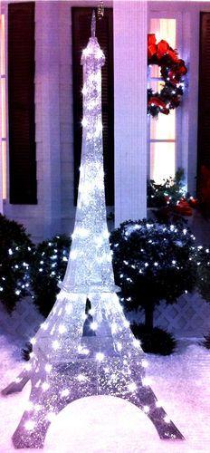 Gemmy Lightshow Sparkle Led Yard Decor 88006 Eiffel