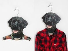 Bark Up Your Closet With Dog-Shaped Clothes Hangers - Dogster
