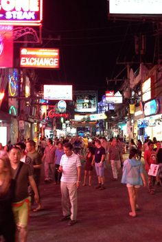 Pattaya, Thailand: Walking Street Burma, Pattaya Thailand, Walking Street, Wish I Was There, Beach Road, Seaside Resort, Beautiful Streets, Hilarious Stuff, Travelogue