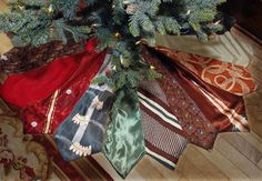 Turn items from lost loved ones into holiday keepsakes with these creative ideas