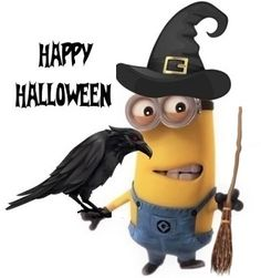Minions Love, Universal Pictures, Happy Halloween, Illustration, Fictional Characters, Illustrations, Fantasy Characters